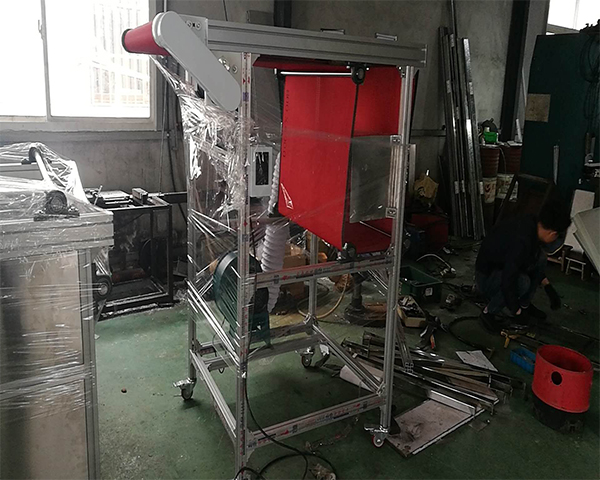 熔喷布收料机